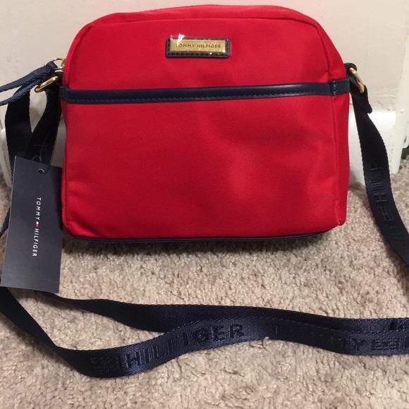 NWT Tommy Hilfiger Nylon Crossbody//Mini Messenger Bag